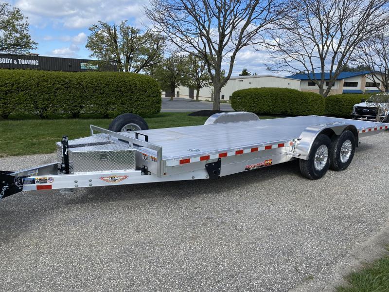2020 H and H Trailer MXA and EXA Speedloader Tandem Axle Tiltbed Aluminum Equipment Trailer