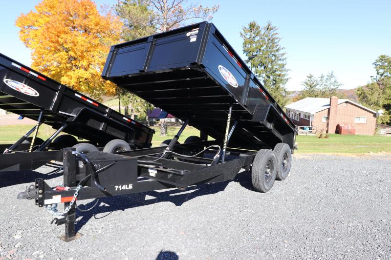 2020 Bri-Mar 7' x 14' Dump Trailer