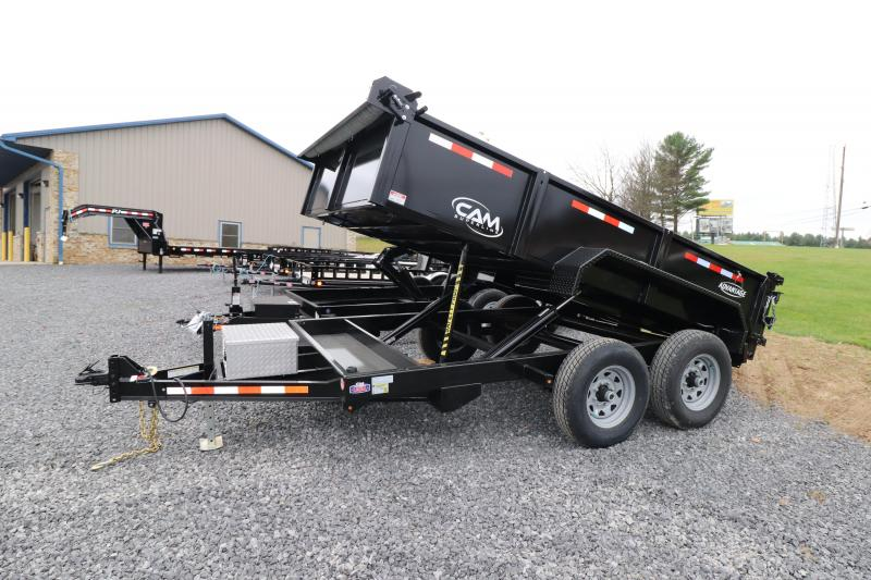 "2020 Cam Superline 12' x 81.5"" Advantage Dump Trailer"
