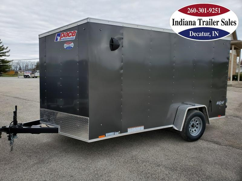 2021 Pace American 7x12 PSCAB7.0X12SE2FF Enclosed Cargo Trailer