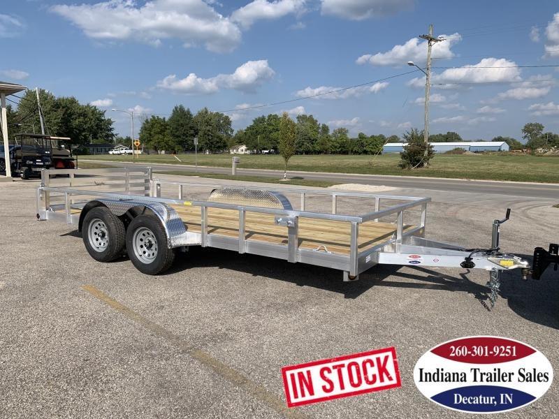 2020 Quality Steel and Aluminum 80x16 8016ALDX7K Utility Trailer