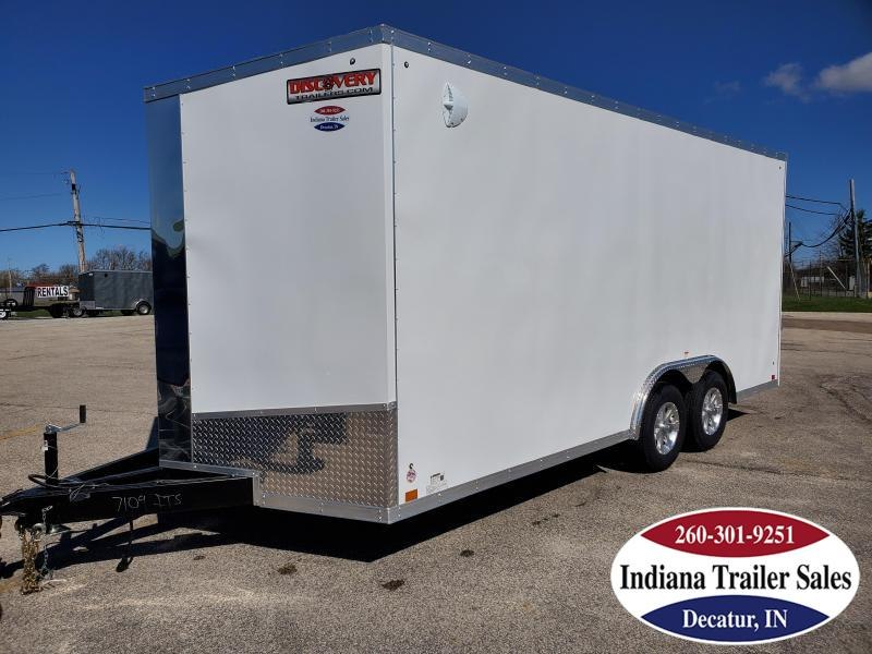 2020 Discovery Trailers 8.5x18 DCH8.518TA3 Enclosed Cargo Trailer
