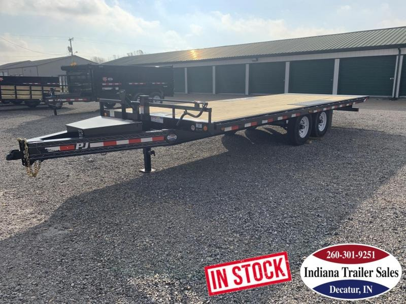 2020 PJ Trailers 102x22 T8222 Equipment Trailer Tilt