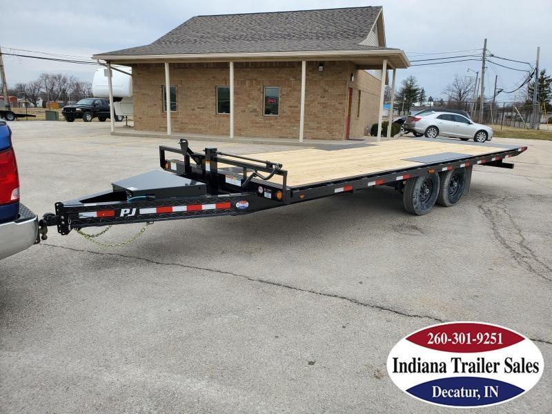 2020 PJ Trailers 96x22 T8222 Equipment Trailer Tilt