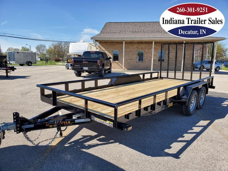 2020 Doolittle Trailer Mfg 84x18 Premier Pipe-Top Utility Trailer