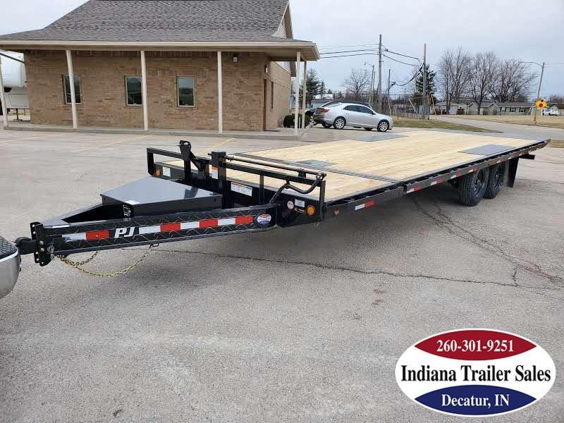 2020 PJ Trailers 102x26 T8262 Equipment Trailer Tilt