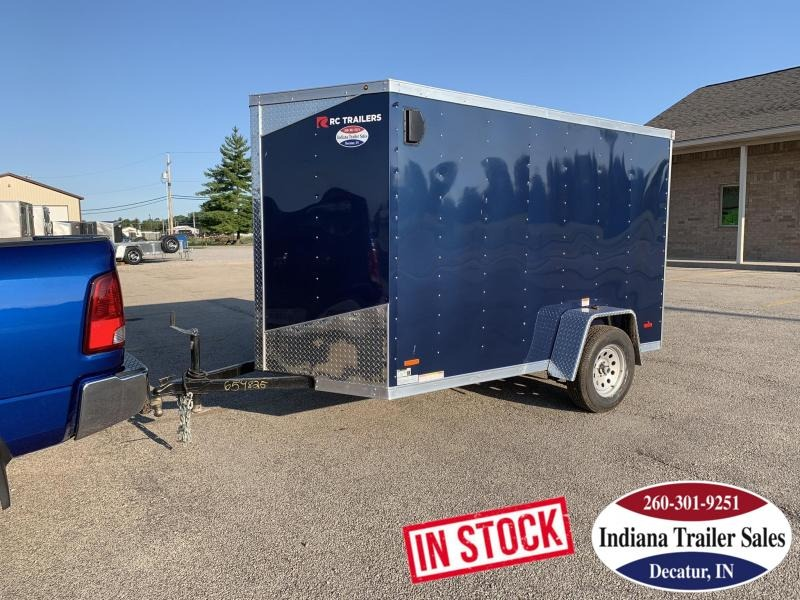2020 RC Trailers RDLX6x10SA Enclosed Cargo Trailer