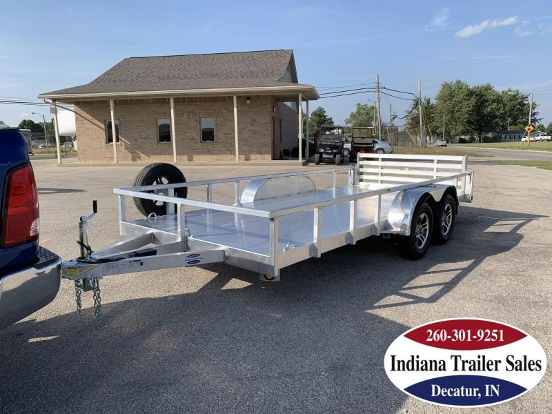 2020 Quality Steel and Aluminum 80x16 8016ALDX7K Utility Trailer