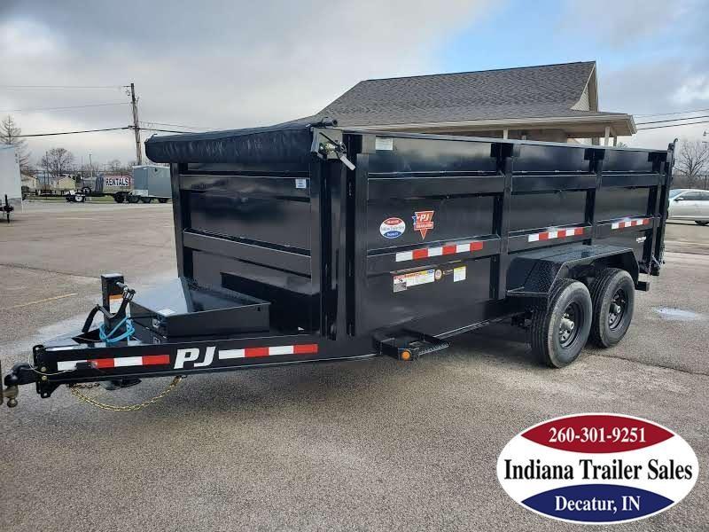 2020 PJ Trailers 83x16 DM162 Dump Trailer