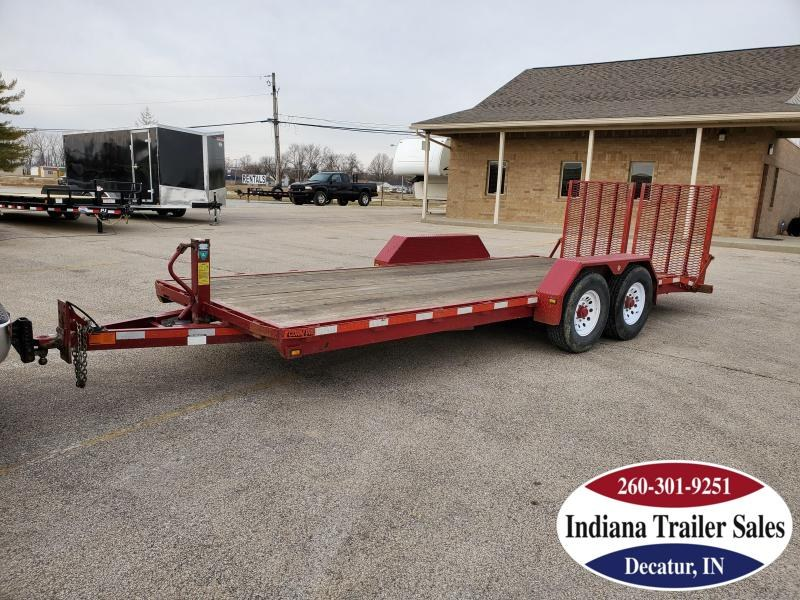2002 CornPro UT20 81x20 Equipment Trailer