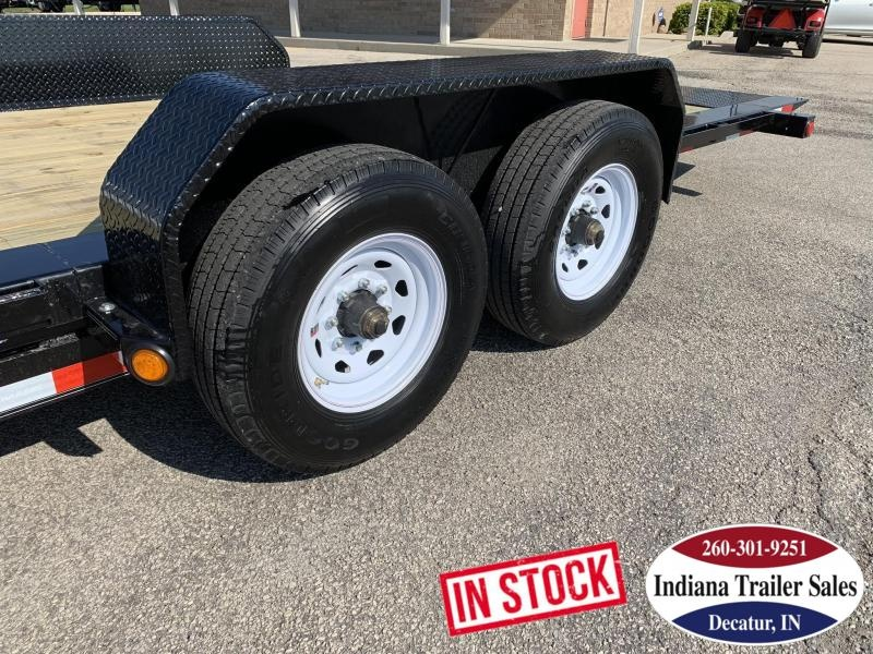 2020 PJ Trailers TJ242 81x24 Equipment Trailer Tilt