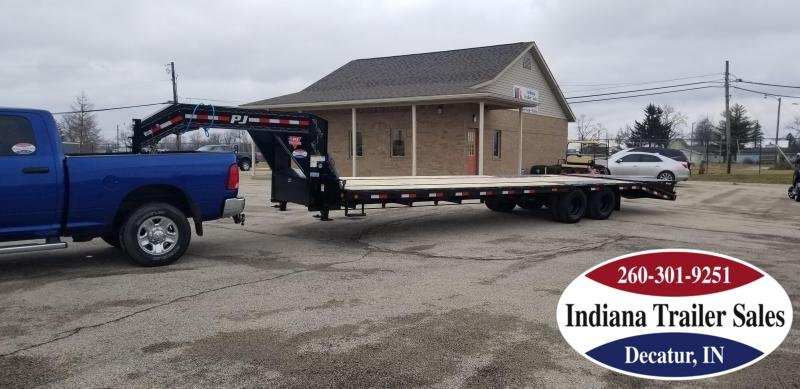 2020 PJ Trailers LD322 102x32 Equipment Trailer