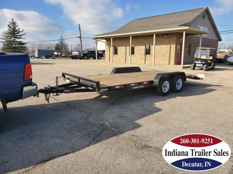 2019 Sure-Trac ST8218CHW-B-070 Car / Racing Trailer