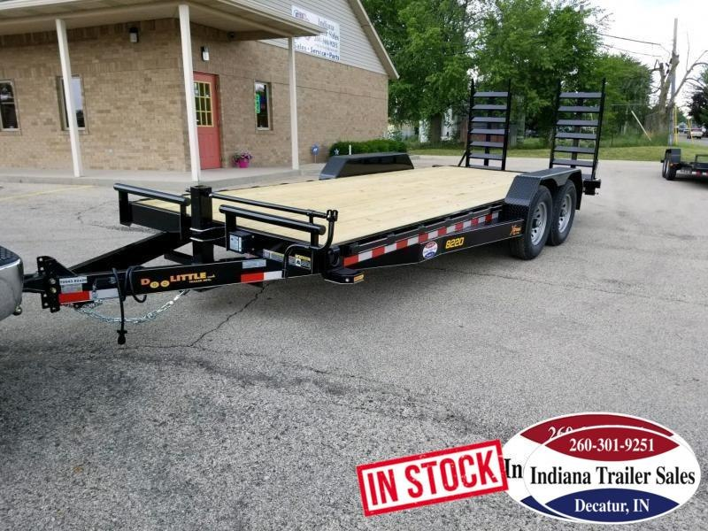 2019 Doolittle Trailer Mfg XT82x2014K Equipment Trailer