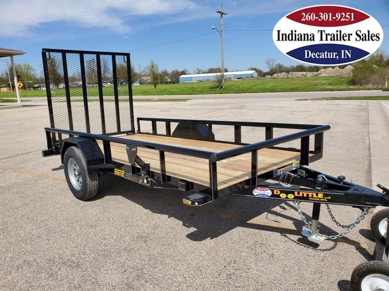 2020 Doolittle Trailer Mfg 66x12 Premier Pipe-Top Utility Trailer