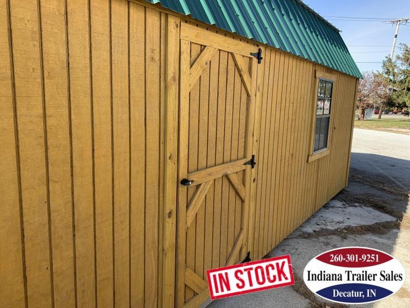 2019 Sheds Direct - Wood Lofted Barn