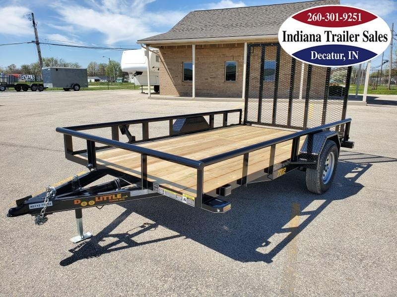 2020 Doolittle Trailer Mfg 77x12 Premier Pipe-Top Utility Trailer