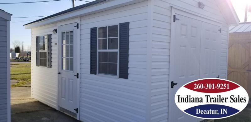 2019 Sheds Direct - 10x16 - Vinyl Deluxe Utility Shed - IN22554219-T02