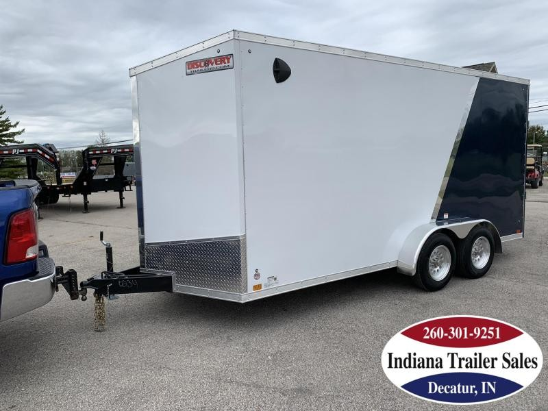 2020 Discovery Trailers 7x16 DRSE716TA2 Enclosed Cargo Trailer