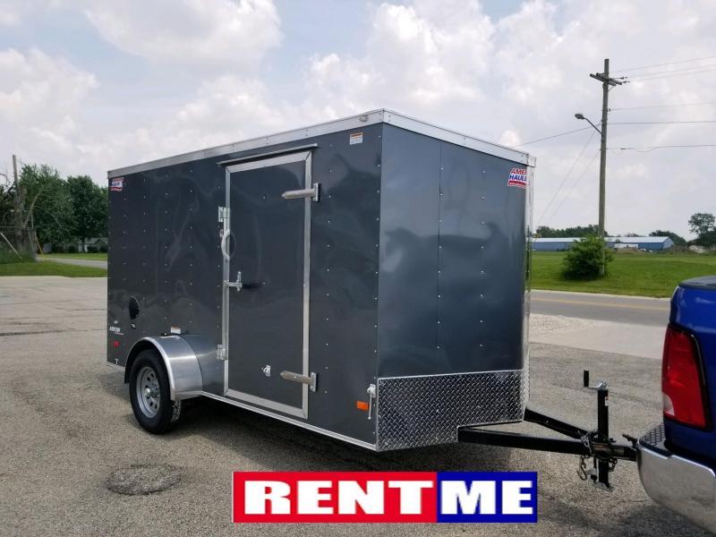 Rental - 2018 American Hauler Industries 6x12 AR612SA Enclosed Cargo Trailer