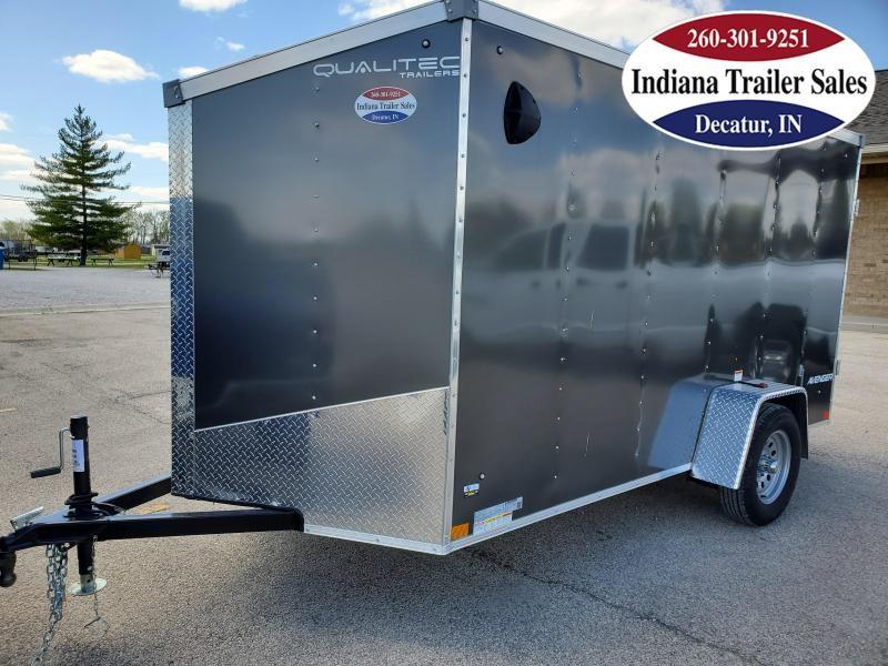 2021 Qualitec 6x12 QAVG612SA2 Enclosed Cargo Trailer