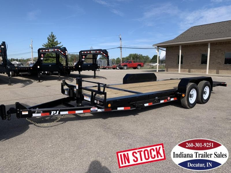 2020 PJ Trailers 82x20 TJ202 Equipment Trailer Tilt
