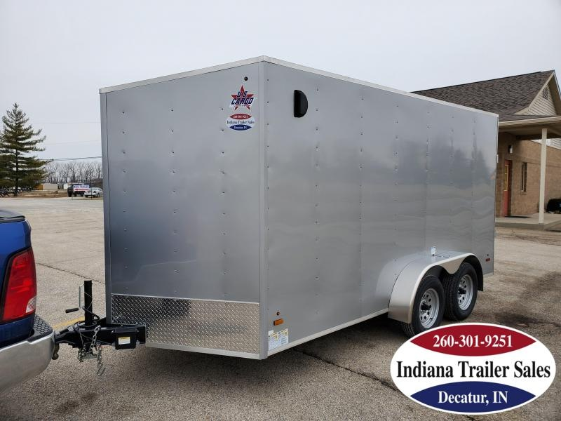 2020 US Cargo 7x14 ULAFT714TA2 Enclosed Cargo Trailer