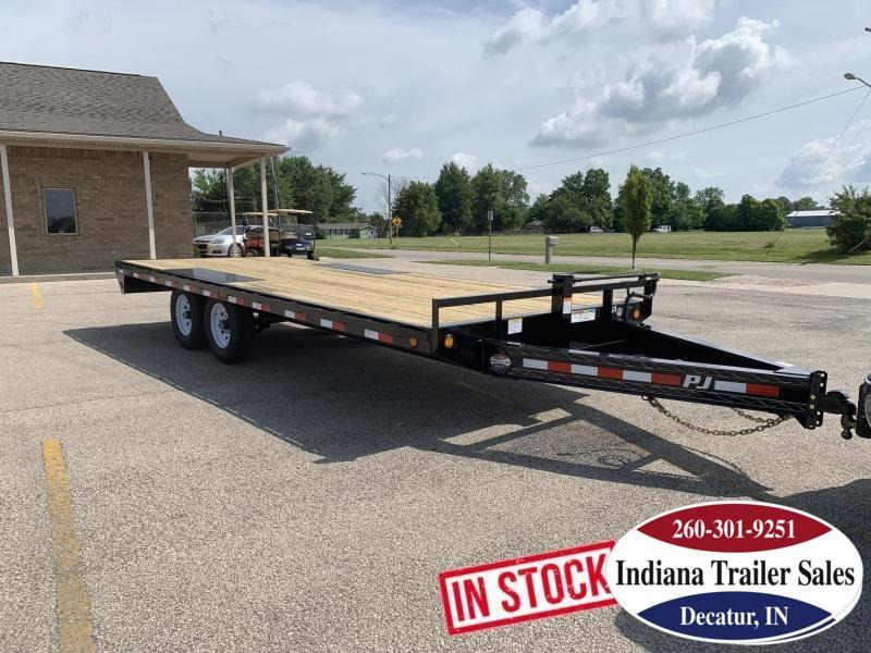 2020 PJ Trailers F8202 - 96X20 Equipment Trailer