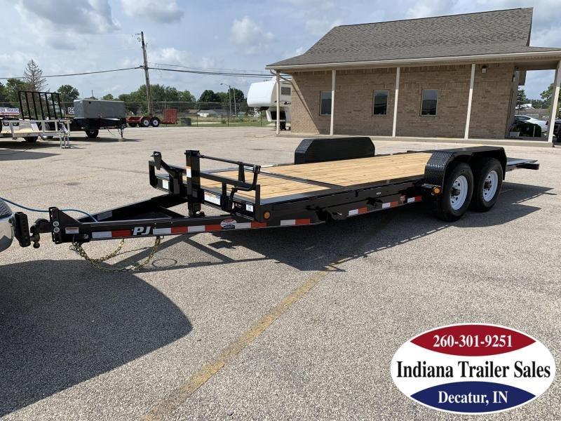 2020 PJ Trailers TJ202 82x20 Equipment Trailer Tilt