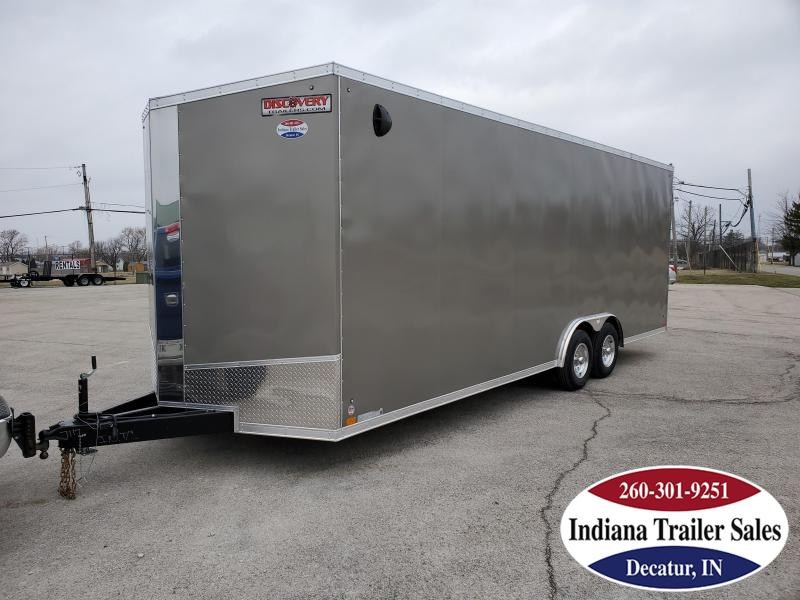 2020 Discovery Trailers 8.5x24 DCH8.524TA3 Enclosed Cargo Trailer