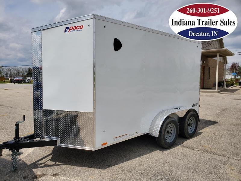2021 Pace American 6x12 PSCBC6.0X12TE2FF Enclosed Cargo Trailer