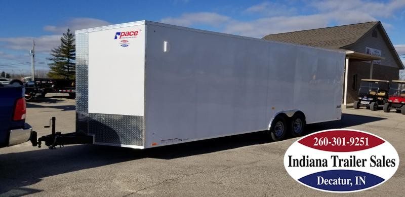 2020 Pace American 8.5x26 JV85X26TE3 Enclosed Cargo Trailer