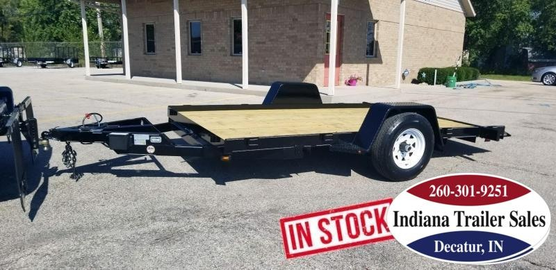 2020 Nation Tank and Trailer 6.5x12 Equip/Tilt Equipment Trailer