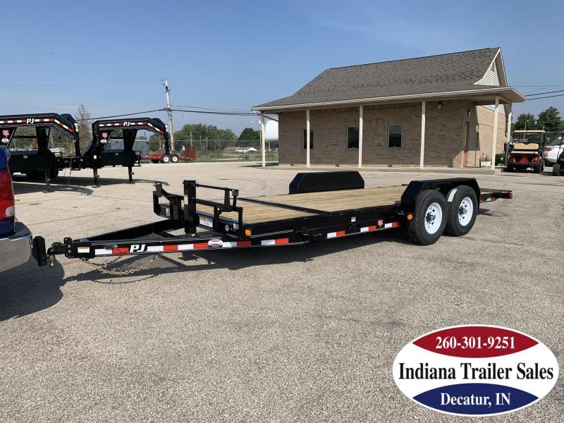 2020 PJ Trailers 83x20 T6202 Equipment Trailer Tilt