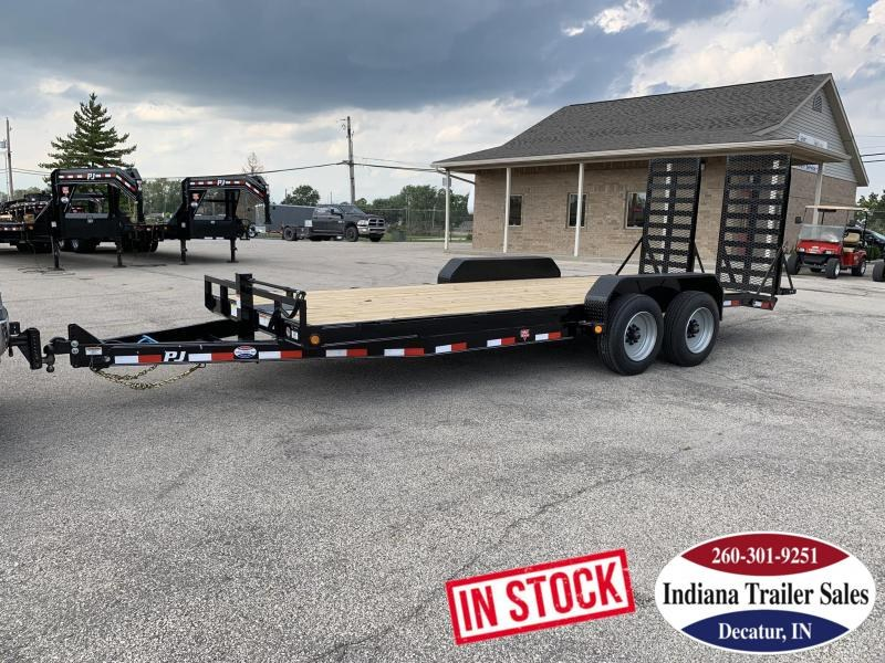 2020 PJ Trailers 80x20 CC202 Equipment Trailer