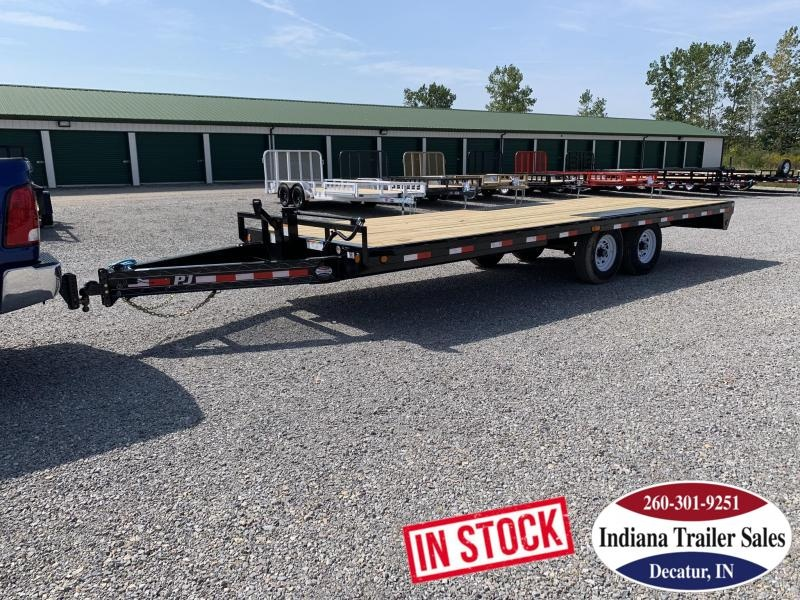 2020 PJ Trailers 96x22 F8222 Equipment Trailer