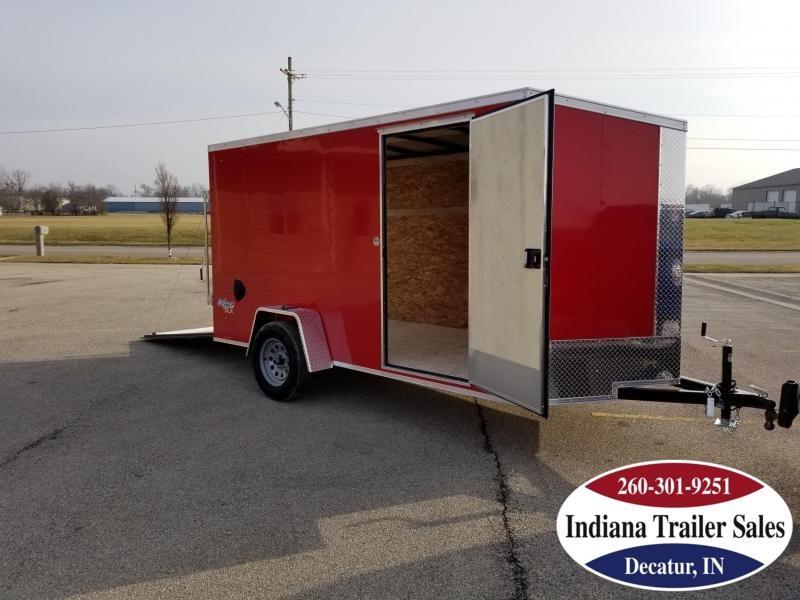 2020 Pace American 6x12 OB6X12SI2DLX Enclosed Cargo Trailer