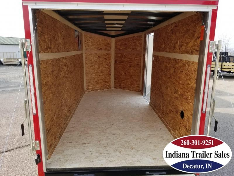 2020 Pace American 6x12 OB6X12SI2DLX Enclosed Cargo Trailer