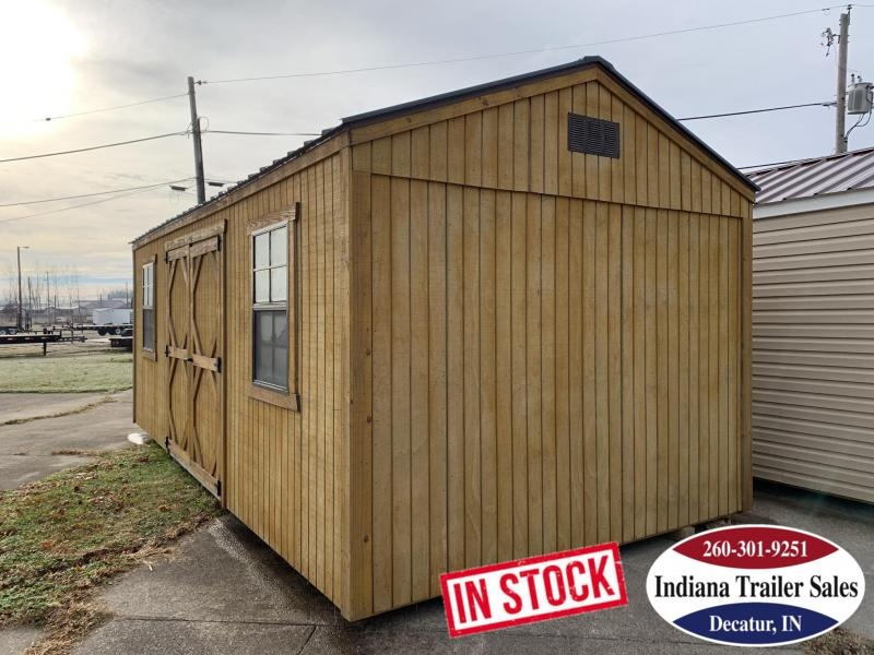 2017 Sheds Direct - 10x20 - Utility Shed - IN204351