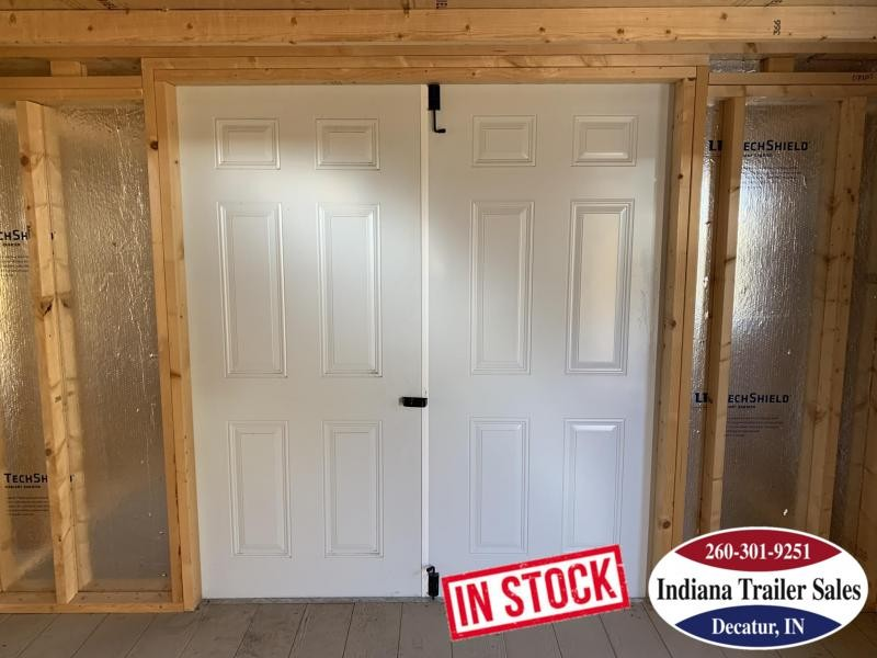 2016 Sheds Direct 12x24 - White Barn - IN2107