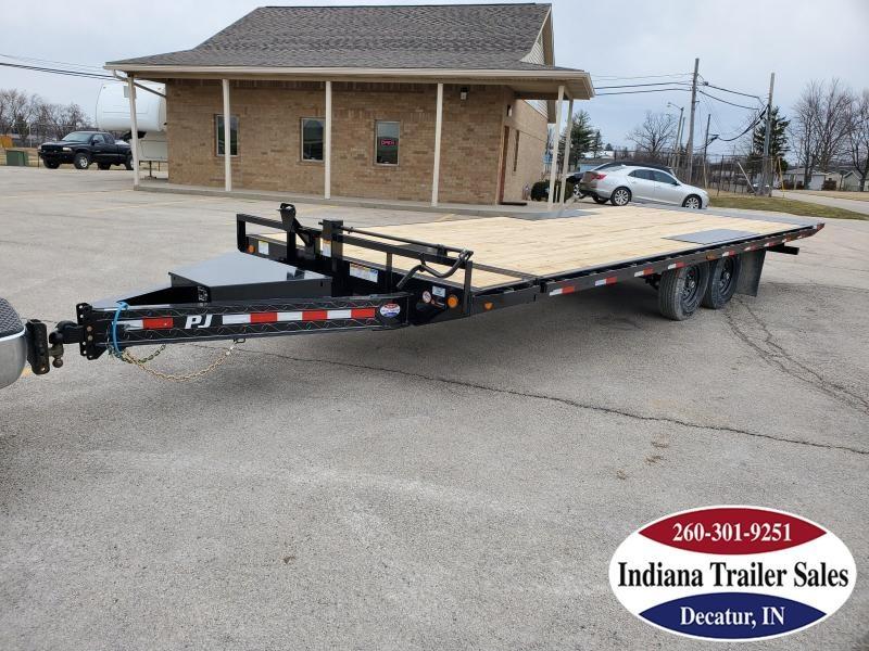 2020 PJ Trailers 102x24 T8242 Equipment Trailer Tilt