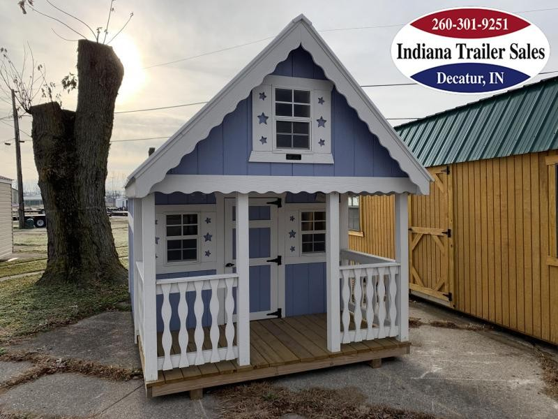 2018 Sheds Direct - 8x12 - Candyland Clubhouse - IN21266018-S1