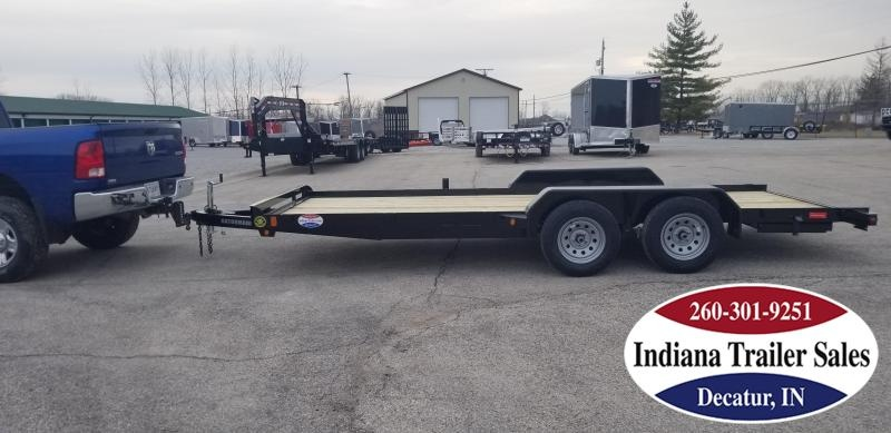 2020 Gatormade Trailers 82x18 Lowboy Car / Racing Trailer