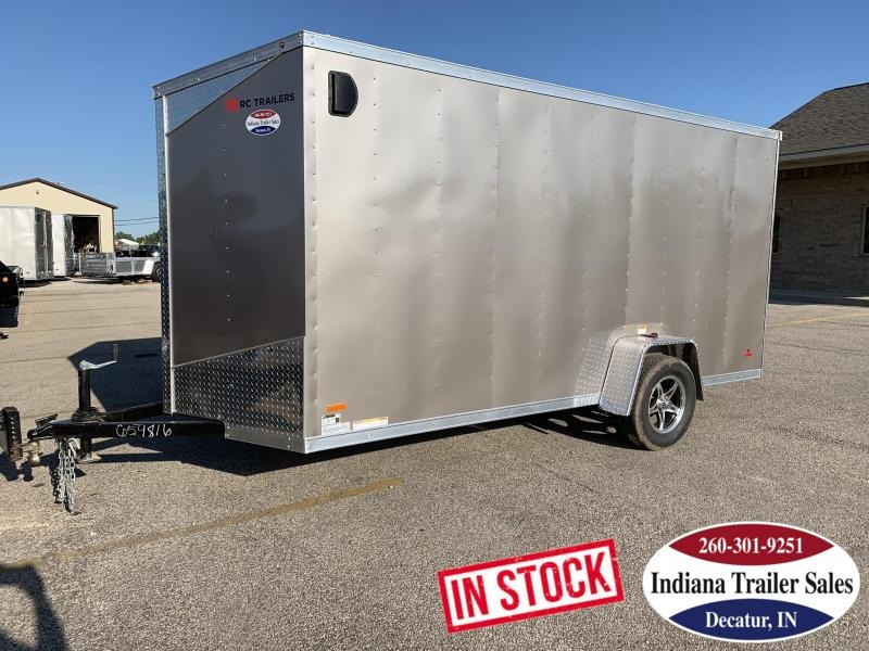 2020 RC Trailers RDLX6x14SA Enclosed Cargo Trailer