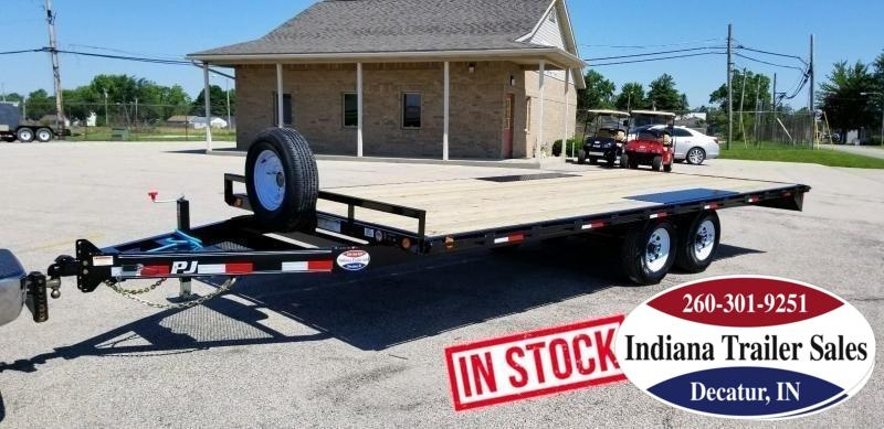 2020 PJ Trailers 101x20 L6202 Equipment Trailer