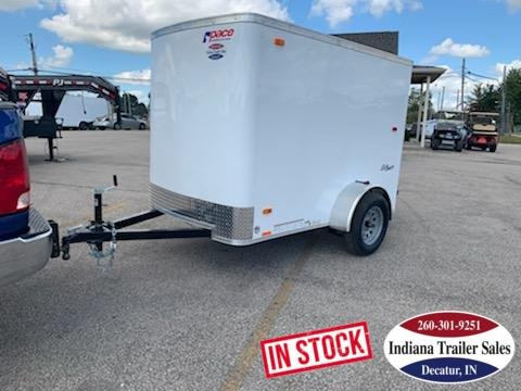 2020 Pace American 5x8 OB5X8SI2 Enclosed Cargo Trailer