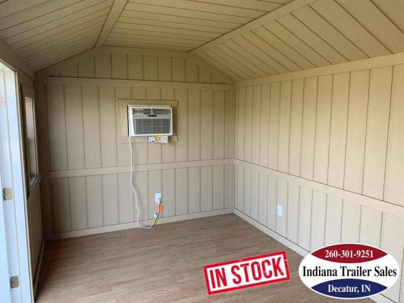 2019 Sheds Direct Gray Cottage - Small Cottage Shed