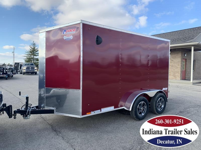 2020 Pace American 6x12 PSCBC6.0X12TE2 Enclosed Cargo Trailer