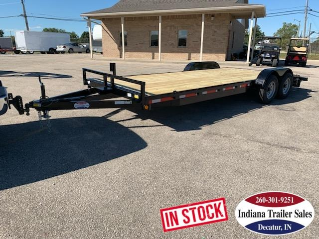 2020 Quality Steel and Aluminum 83x20 8320CH10K Car / Racing Trailer