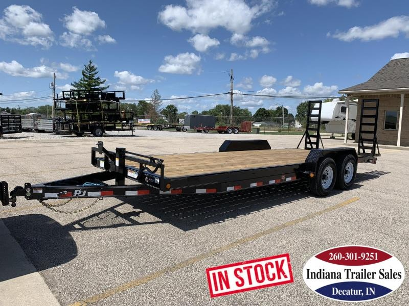 2020 PJ Trailers CC222 83x22 Equipment Trailer